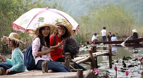 Mot ngay tha hon voi sac hoa sung suoi Yen chua Huong - Anh 8