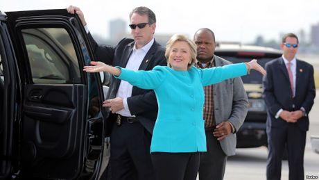Ti le ung ho Clinton-Trump tai cac bang chien truong ra sao? - Anh 1