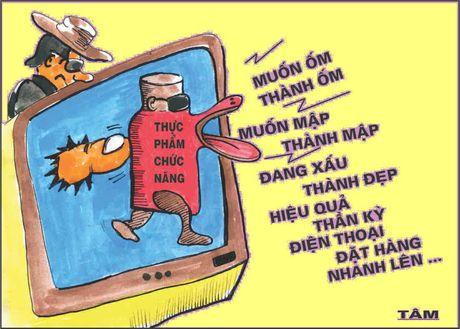 Biem: phat kieu 'gai ngua' va con vit 'thuc pham chuc nang - Anh 1