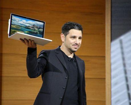 Microsoft gioi thieu phien ban moi cua dong laptop Surface voi thanh pin 16 tieng - Anh 1