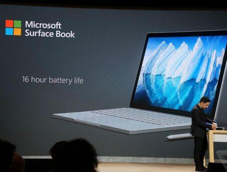 Microsoft gioi thieu phien ban moi cua dong laptop Surface voi thanh pin 16 tieng - Anh 2