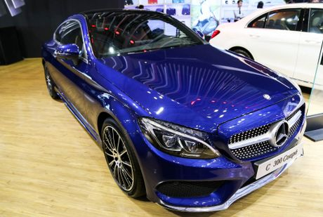 Chi tiet Mercedes C300 Coupe gia 2,7 ty dong tai VIMS - Anh 1
