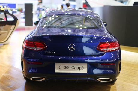 Chi tiet Mercedes C300 Coupe gia 2,7 ty dong tai VIMS - Anh 4