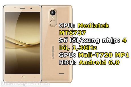 Smartphone cam bien van tay, RAM 2 GB, gia gan 2 trieu dong - Anh 1