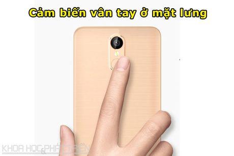Smartphone cam bien van tay, RAM 2 GB, gia gan 2 trieu dong - Anh 8
