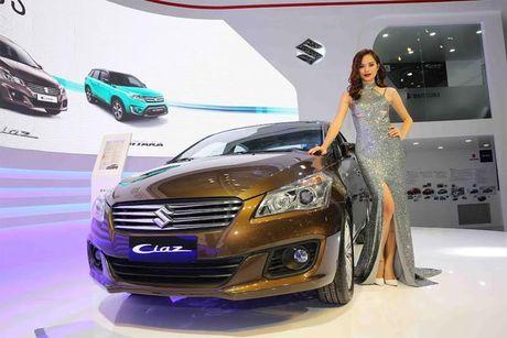 Suzuki Ciaz - Chien binh moi thach thuc phan khuc sedan hang B - Anh 2