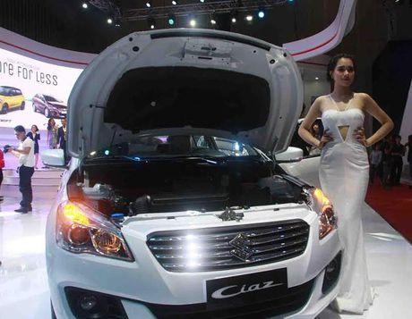 Suzuki Ciaz - Chien binh moi thach thuc phan khuc sedan hang B - Anh 6