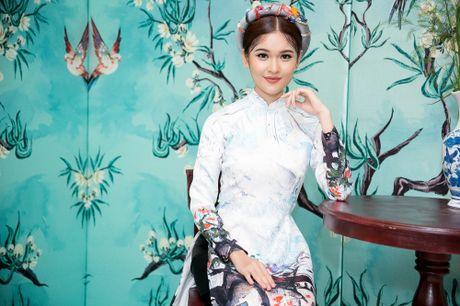 Chi Pu, Helly Tong, A hau Thuy Dung duyen dang trong ao dai cach tan - Anh 4