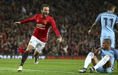 Man United 1-0 Man City: Mata no sung, danh bai doi hinh 2 cua Guardiola - Anh 2