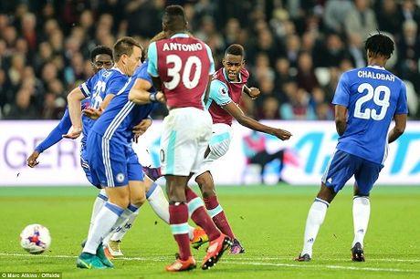 West Ham 2-1 Chelsea: Chien thang cua West Ham bi che mo boi canh CDV danh nhau - Anh 2