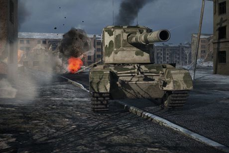 Anh dep an tuong trong game xe tang hut khach World of Tanks - Anh 11