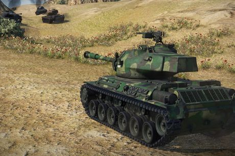 Anh dep an tuong trong game xe tang hut khach World of Tanks - Anh 2