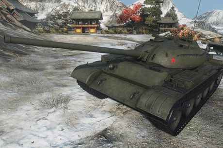 Anh dep an tuong trong game xe tang hut khach World of Tanks - Anh 3