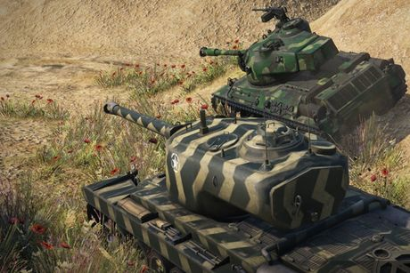 Anh dep an tuong trong game xe tang hut khach World of Tanks - Anh 4