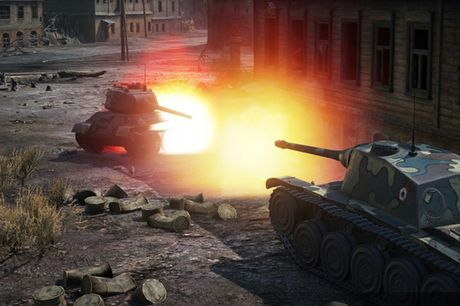Anh dep an tuong trong game xe tang hut khach World of Tanks - Anh 5