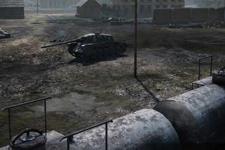 Anh dep an tuong trong game xe tang hut khach World of Tanks - Anh 6