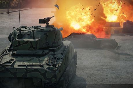 Anh dep an tuong trong game xe tang hut khach World of Tanks - Anh 7