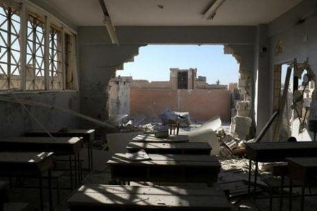 UNICEF len an vu khong kich dam mau tai truong hoc Syria - Anh 1