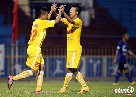 U21 HAGL cham tran Sanna Khanh Hoa o ban ket U21 Quoc gia - Anh 1