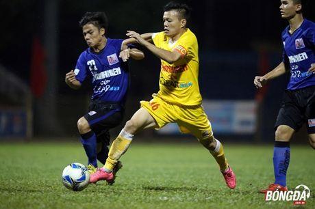 U21 HAGL cham tran Sanna Khanh Hoa o ban ket U21 Quoc gia - Anh 2