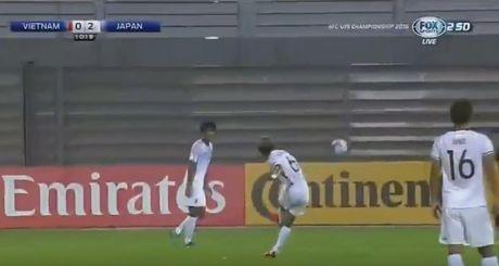 Thua tham truoc U19 Nhat Ban, U19 Viet Nam ngang cao roi giai - Anh 3