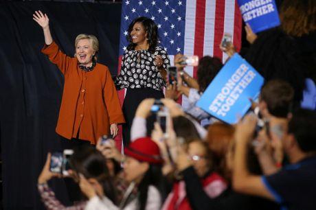 De nhat phu nhan My van dong tranh cu cung ba Clinton - Anh 4