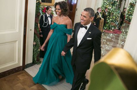 Loat anh ve De nhat phu nhan Michelle Obama - Anh 10