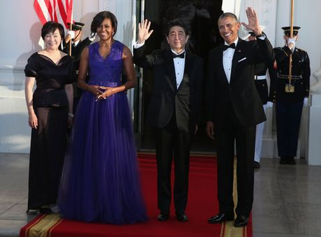 Loat anh ve De nhat phu nhan Michelle Obama - Anh 12