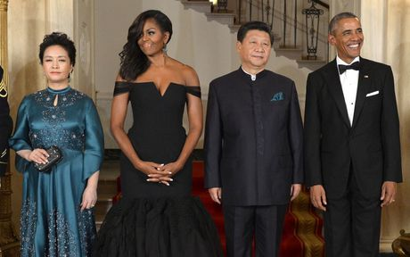 Loat anh ve De nhat phu nhan Michelle Obama - Anh 13
