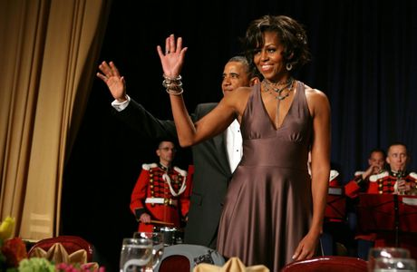 Loat anh ve De nhat phu nhan Michelle Obama - Anh 4