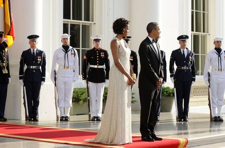 Loat anh ve De nhat phu nhan Michelle Obama - Anh 5