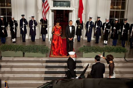 Loat anh ve De nhat phu nhan Michelle Obama - Anh 6