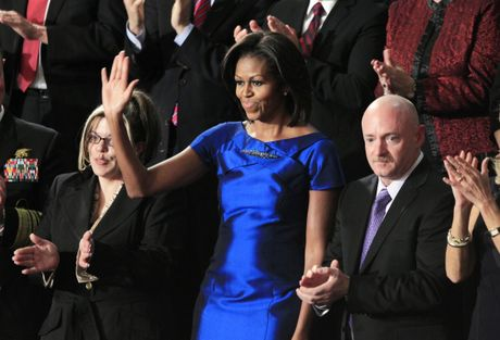 Loat anh ve De nhat phu nhan Michelle Obama - Anh 7