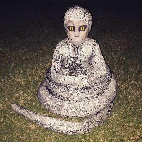 Nhung hinh anh hoa trang Halloween kinh di khien nhieu nguoi 'hon bay phach lac' - Anh 18