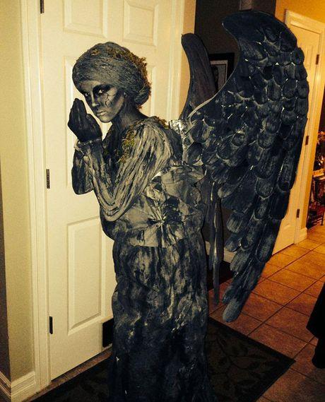 Nhung hinh anh hoa trang Halloween kinh di khien nhieu nguoi 'hon bay phach lac' - Anh 19