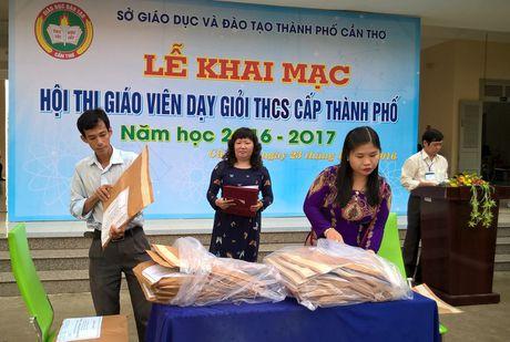 Can Tho: Hon 600 giao vien tham gia Hoi thi Giao vien day gioi THCS - Anh 1