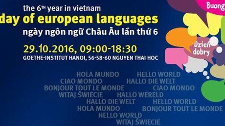 Nhieu hoat dong trong Ngay ngon ngu Chau Au tai Ha Noi - Anh 1