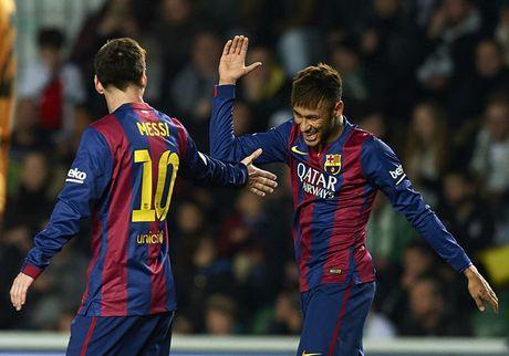 'Neu khong co Messi, Neymar se khong duoc nhu ngay nay' - Anh 1