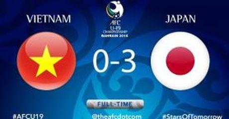 U19 Viet Nam 0-3 U19 Nhat Ban - Anh 1