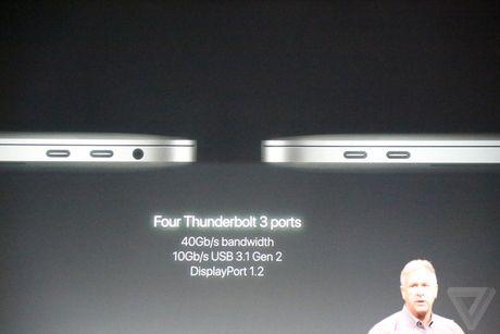 MacBook Pro 2016 ra mat: Sieu mong, sieu nhe, ho tro Touch ID, Touch Bar - Anh 10