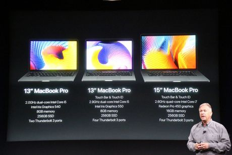 MacBook Pro 2016 ra mat: Sieu mong, sieu nhe, ho tro Touch ID, Touch Bar - Anh 1