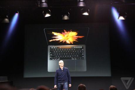 MacBook Pro 2016 ra mat: Sieu mong, sieu nhe, ho tro Touch ID, Touch Bar - Anh 2