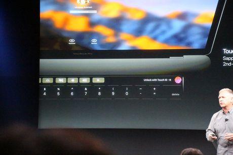 MacBook Pro 2016 ra mat: Sieu mong, sieu nhe, ho tro Touch ID, Touch Bar - Anh 5