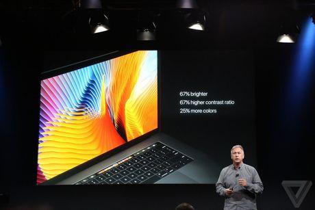 MacBook Pro 2016 ra mat: Sieu mong, sieu nhe, ho tro Touch ID, Touch Bar - Anh 6