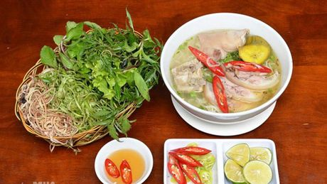 Bun bung hoa chuoi - mon an dam chat que Thai Binh - Anh 1