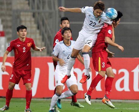 Dung 10 du bi, Nhat van thang dam U19 Viet Nam - Anh 1