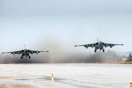 Chien dau co Nga, My suyt va cham o Syria - Anh 1
