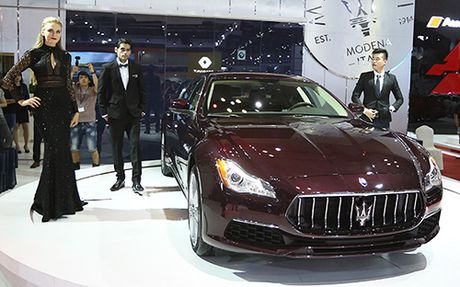 Maserati Quattroporte 2017 gia tu 6,1 ty dong ve Viet Nam - Anh 2
