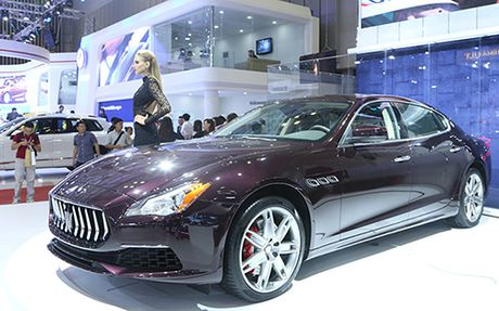 Maserati Quattroporte 2017 gia tu 6,1 ty dong ve Viet Nam - Anh 3