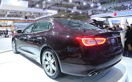 Maserati Quattroporte 2017 gia tu 6,1 ty dong ve Viet Nam - Anh 4